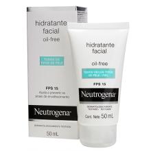 NEUTROGENA® Hidratante Facial Oil Free todo tipo de piel SPF15